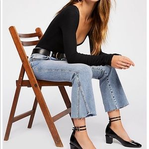 Free People cropped flared Jeans